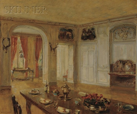 the dining room by walter gay