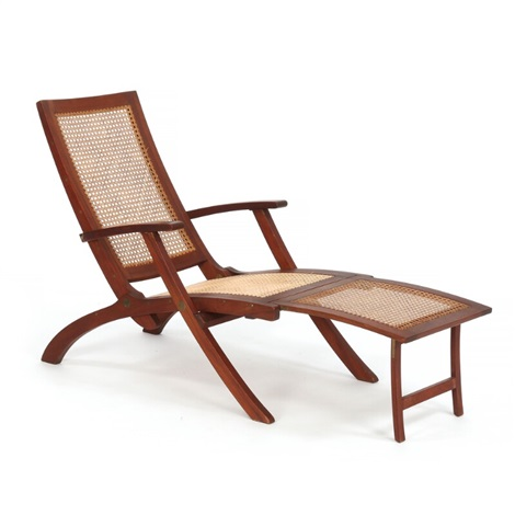 Marvelous Teak Deck Chair With Seat Back And Adjustable Leg Support Gmtry Best Dining Table And Chair Ideas Images Gmtryco