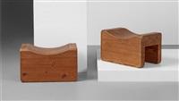 taburetter (pair) by axel einar hjorth