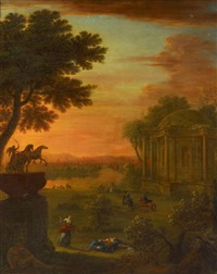 pyramus und thisbe by john wootton
