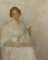the lady in white by wilton robert lockwood