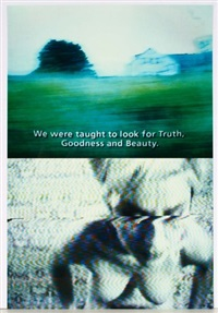 we were taught to look for truth, goodness and beauty by pipilotti rist