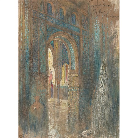 the alcazar by george wharton edwards