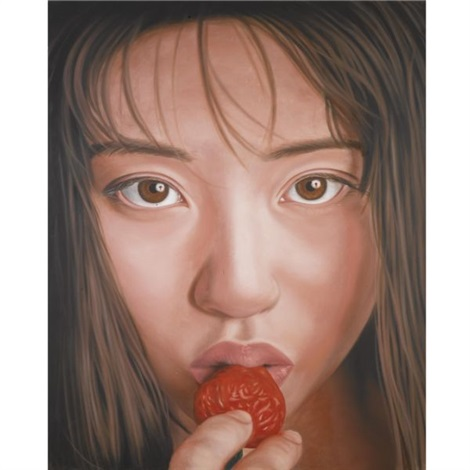 strawberry eater by richard phillips