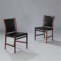 dining chairs (pair) by jacob kjaer and rigmor andersen