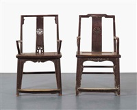 fairytale chairs (2 works) by ai weiwei
