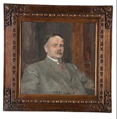 retrato del escritor rodolfo gil by joaquin sorolla y bastida