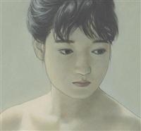 woman in backlight by seigo takatsuka