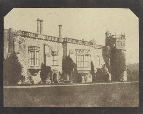 lacock abbey by william henry fox talbot