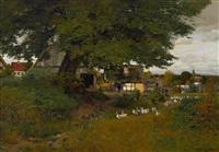 landschaft aus unterfranken by hans herrmann