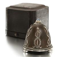 a bell push (for fabergé) by johann viktor aarne