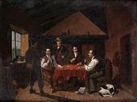 reunión de cazadores by manuel cabral aguado bejarano