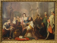 the idolatry of solomon by jacopo amigoni