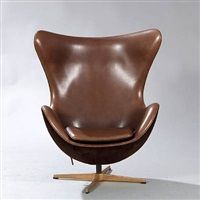the golden egg easy chair (model 3316) by arne jacobsen