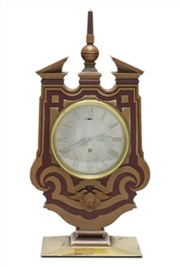 mantel clock for the marriage of col. harvey to miss pritchard by edwin henry lutyens