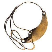 half & half necklace by art smith