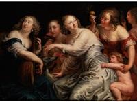 allegorie der fünf sinne by theodor van thulden