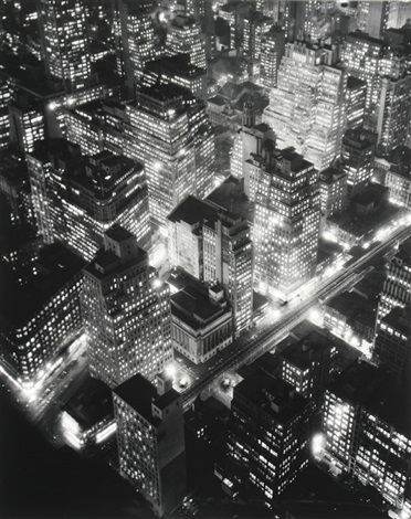 nightview new york by berenice abbott