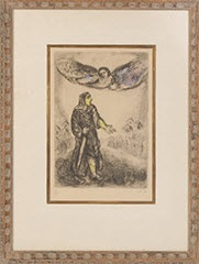 joshua before jericho by marc chagall