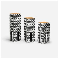 pedestals from the ollo collection (set of 3) by alchimia