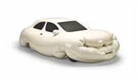 fat car by erwin wurm