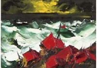 sea rages by yotsuo kasai