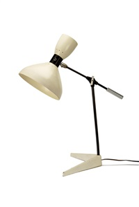 rare table lamp by olga lee baughman