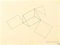 untitled (line geometries) by robert morris