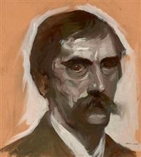 autoportrait by georges (karpeles) kars