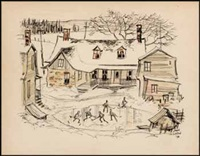 pond hockey by john geoffrey caruthers little