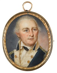 portrait of revolutionary general daniel morgan by charles willson peale