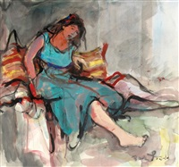 woman by esther peretz arad