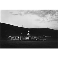 mustang bridge exit, interstate 80 (from nevada series) by lewis baltz