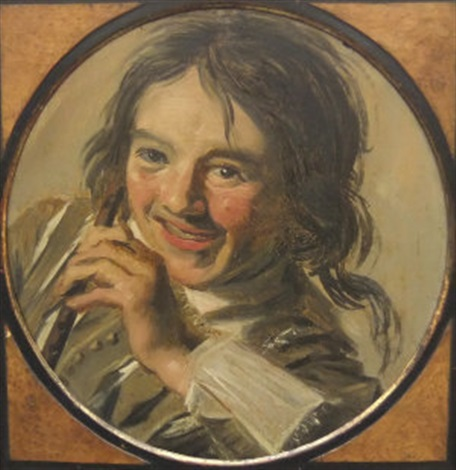 boy holding a flute by frans hals the elder