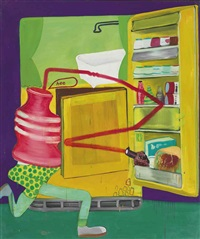 ice box 8 by peter saul