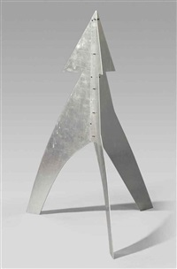 untitled (maquette) by alexander calder