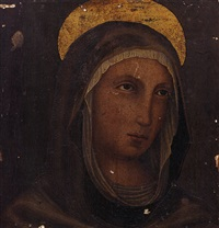 madonna by simone martini