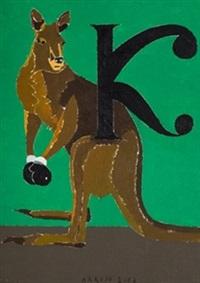 kanguro by eduardo arroyo