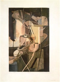 mariée-bride by jacques villon and marcel duchamp