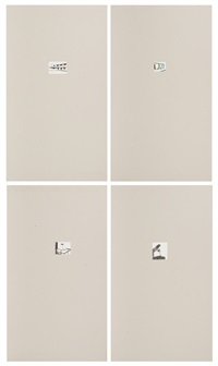 recherches (4 works) by luc tuymans
