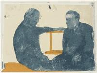 the conversation (het gesprek) by luc tuymans