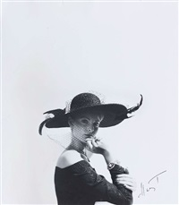 fashion hat by horst p. horst