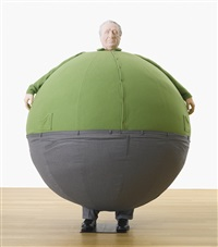 the artist who swallowed the world by erwin wurm