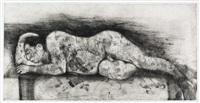 sleeper i by william kentridge