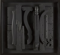 nightscape presence i.0 by louise nevelson