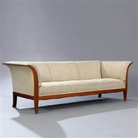 three seater sofa by frits henningsen