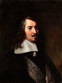 portrait eines adeligen herren by anton domenico gabbiani