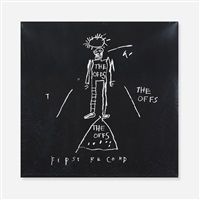 the offs lp by jean-michel basquiat