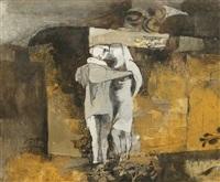 lovers ii by keith vaughan