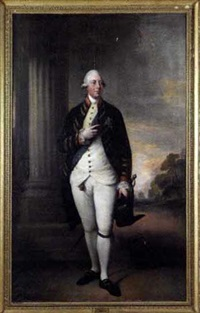 portrait of king george iii of england by gainsborough dupont